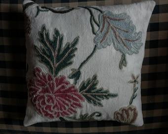 Crewel Pillow