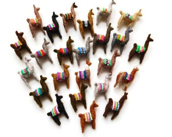 party favors llama pins wedding favors party supplies llama handmade LOT OF 24 pieces
