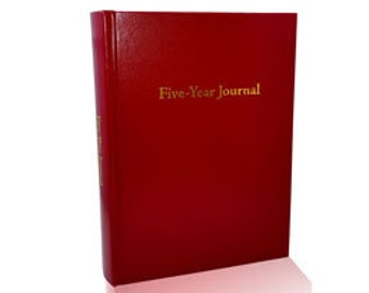 Five-Year Journal (Cranberry Red)