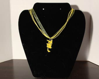 Yellow Pikachu Necklace