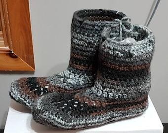 Men's or Women's Slipper Boots