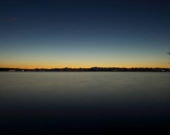 Lake Sunset Photograph