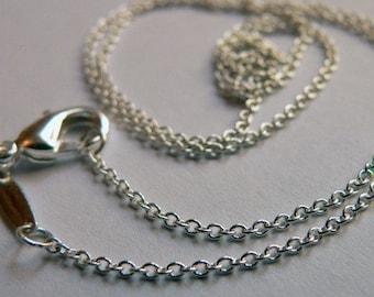 20 inch Rolo Silver Chain