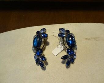 Vintage Juliana Jelly belly clip earrings