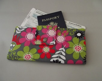 Dollbirdies Long Boarding Pass Passport Wallet
