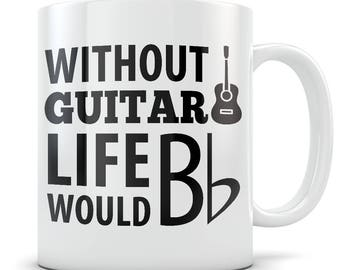 Guitar Gift, guitar mug, guitar gift for men, guitar gift for women, acoustic guitar mug, acoustic guitar gift, guitar teacher gift / mug