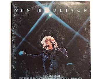 "Van Morrison, ""It's Too Late to Stop Now"", vinyl record album, classic rock LP, 1970s, live LP, double album"