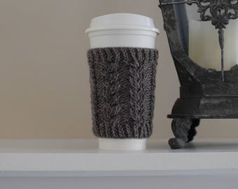 Starbucks Cup Cozy, Coffee Sleeve, Knit Mug Cozy, Knit Starbucks Cup, Starbucks Coffee Sleeve, Starbucks Cup Holder, Tea Cozy