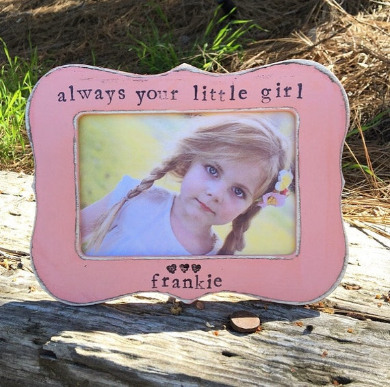Mom gift Always your little girl picture frame for mom mommy grandma ...