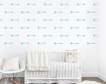 Arrow Wall Decals,  Arrow Wall Sticker, Arrow Decal, Arrow Vinyl Decal, Arrow Pattern, Nursery Decal