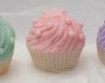 Scented soap cupcake