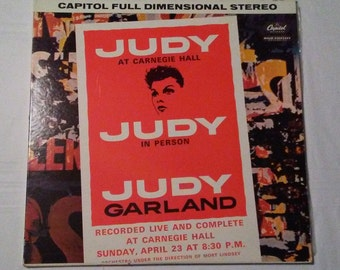 Judy Garland, live at Carnegie Hall