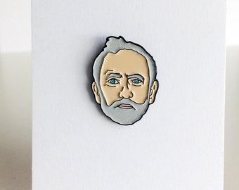 Jeremy Corpin   Glow In Dark   Soft Enamel   Pin Badge
