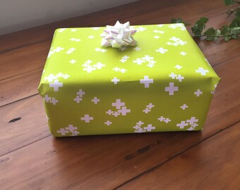 Plus + Plus Wrapping Paper