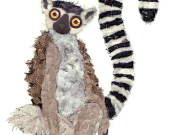 Ring-tailed Lemur (Card)