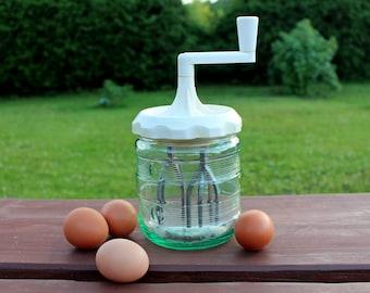 Soviet vintage hand mixer Egg beater Mechanical mixer Vintage mixer Vintage hand mixer
