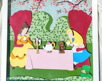Tea Party in the Mad Hatter's Court