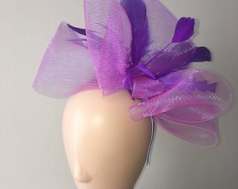 "Kentucky Derby Fascinator ""Olivia"" - derby hat, tea party hat, wedding hat, church hat, Easter hat, fascinator hat"