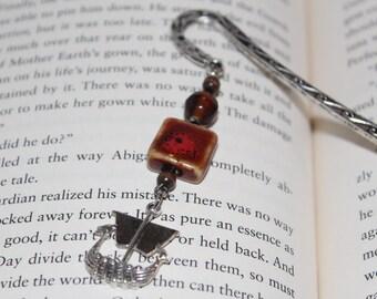Metal Bookmark    Viking Bookmark    Gifts for Dad    Book Lover Gifts    Metal Beaded Bookmark    Gifts for Readers    Large Bookmark   