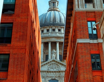 LIMITED EDITION, 'The Dome of St. Paul' London Photography, Fine Art Photography, Travel Photography, Wall Decor, Signed, Cathedral, UK