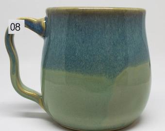 Item #8 Multi layered glaze Handmade Mug