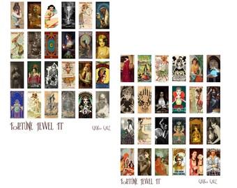 Fortune Jewels Digital Collage Set