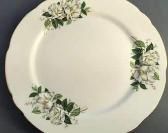 Royal Stafford Camellia Porcelain Dinner Plate (B)