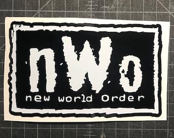 NWO Vinyl Decal Cliq WWE WCW Wolfpack New World Order Car Truck Laptop Sticker