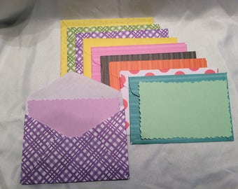 Note Cards and Envelopes