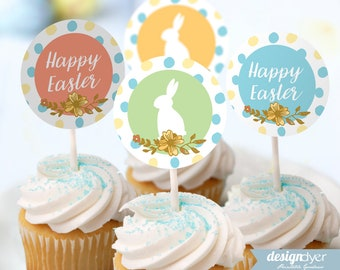 Printable Easter Bunny Party Pack INSTANT DOWNLOAD