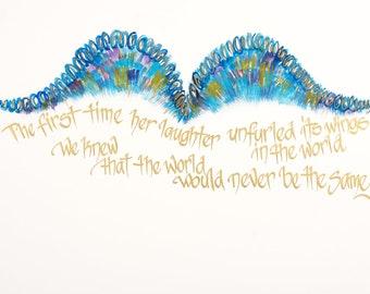 Angel Wings-blue