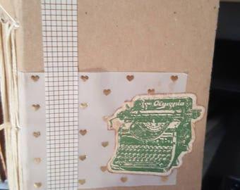 Mini Ledger Junk Journal - Handmade- WYSIWYG