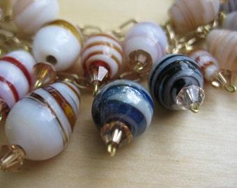 Insouciant Studios Cafe Bracelet and Earring Set
