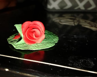 Couples Polymer clay Rose