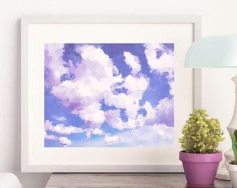 Clouds 07 - Art Print