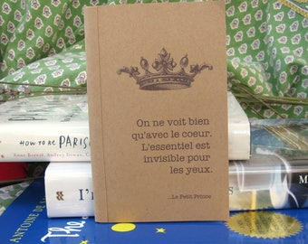 Le Petit Prince Kraft Paper Notebook / Journal / Sketchpad