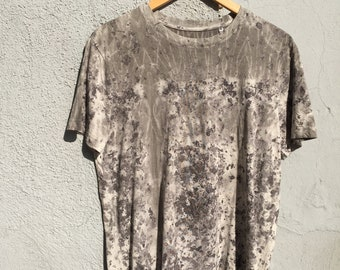 Organic cotton t-shirt natural dyed #4