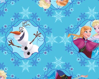 Disney Frozen Sisters Ice Skating Framed Fabric From Springs Creative