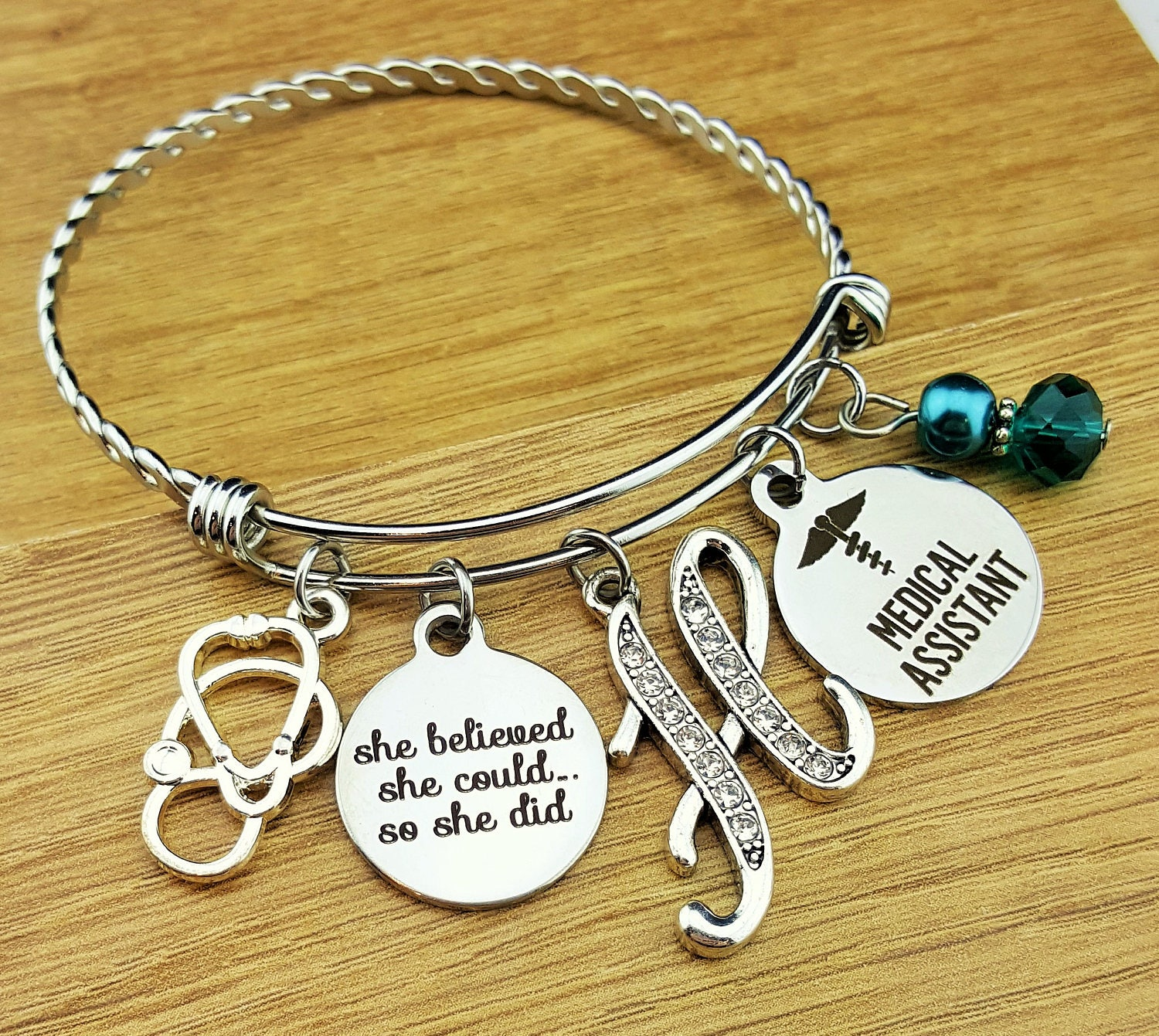 charm for all collections designs shop bracelets large dlk brac trio bracelet map graduation gift girls
