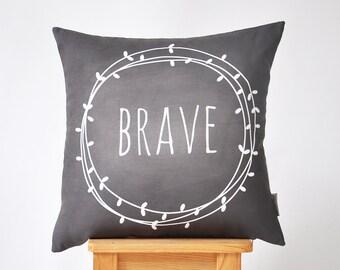 """Modern Decorative Pillows, Nursery Pillow, Kids Pillow, Throw Pillow, Chalkboard Pillow 16"""" x 16"""""""