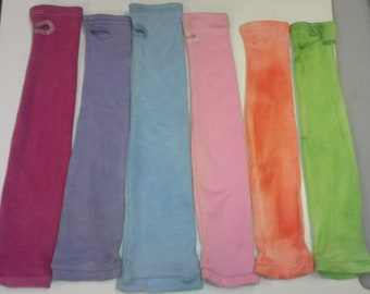 SALE Hand Dyed stretch Nomex sleeves 18""