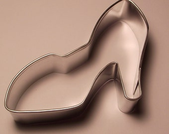 "4""  Ladies Shoe Cookie Cutter"