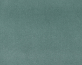 Turquoise Authentic Cotton Velvet Upholstery Fabric By The Yard | Pattern # A0000N