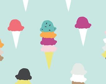 Boardwalk Delight - Ice Cream Cones (I Scream, You Scream) From Art Gallery designed by Dana Willard - Choose Your Cut