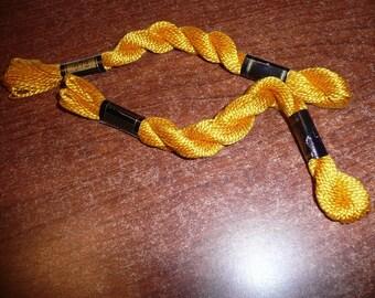 DMC Perle Cotton Gold Size 3 Flosses