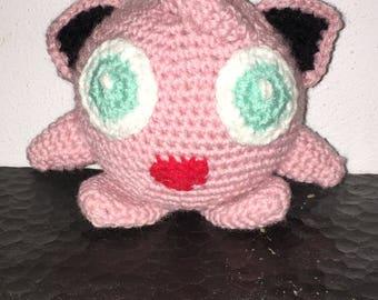 Jigglypuff inspired plushie