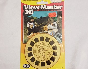 SEALED The Wind in the Willows 3-D Reels; Showtime Classics; 1988 Cosgrove Hall, Viewmaster Ideal; 3 Viewer Reels