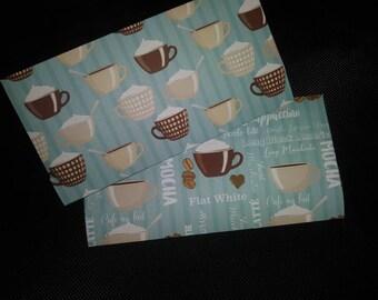 Coffee Break #1: Money Envelopes