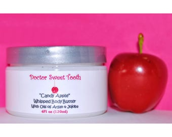 Candy Apple Whipped Body Butter with Argan & Jojoba Oil