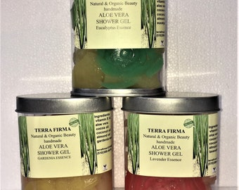 Organic Aloe Vera Shower Gel
